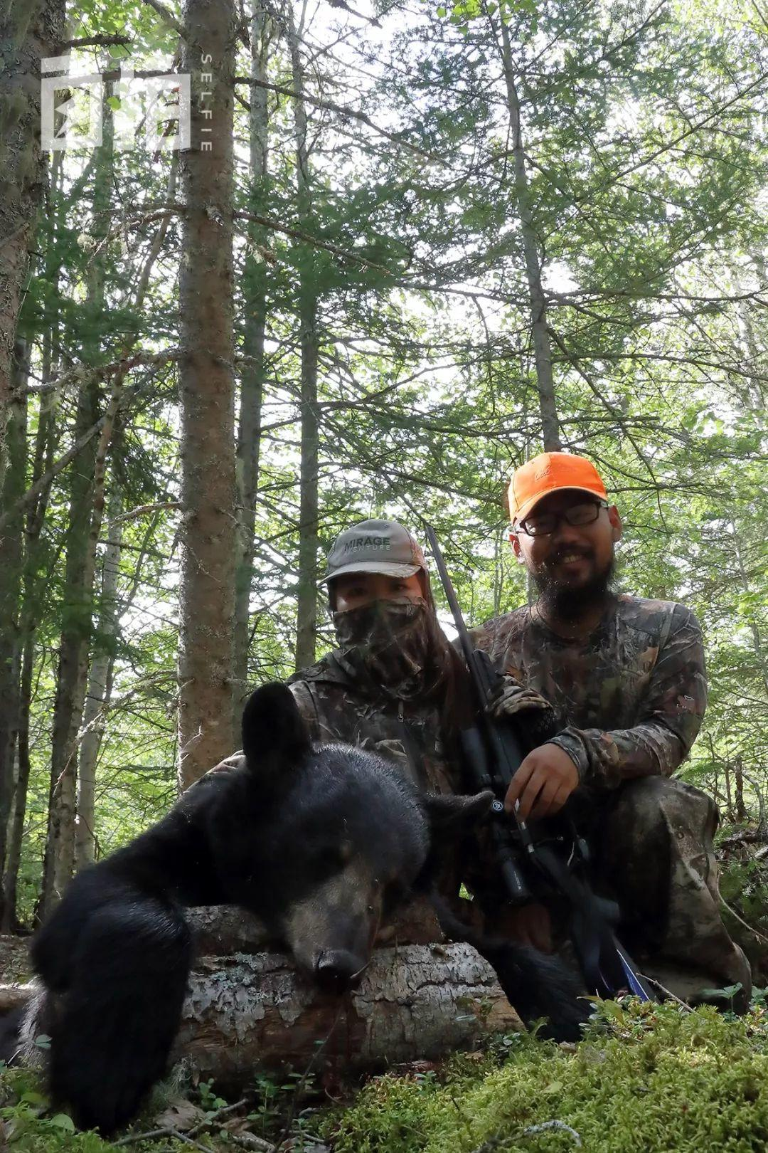 移民加拿大后,我去偏僻省当了职业猎人,每年得杀50头熊-私会鲁斌