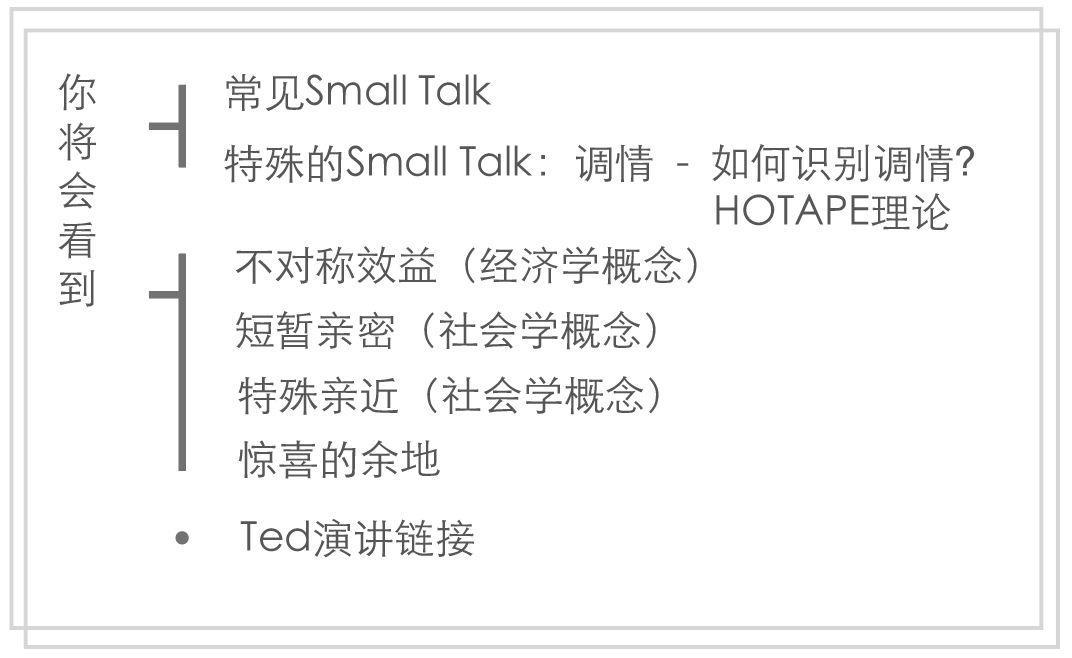 这届年轻人必备社交技能: Small Talk,不只是搭讪。