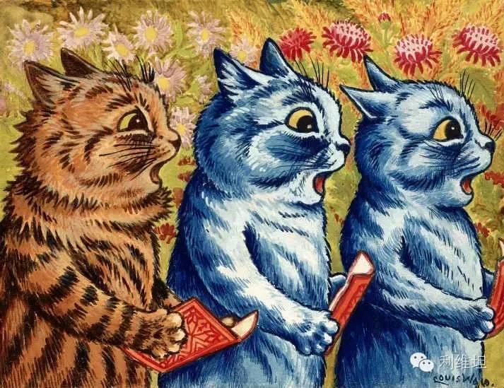 一位猫画家伤感而又迷幻的往事