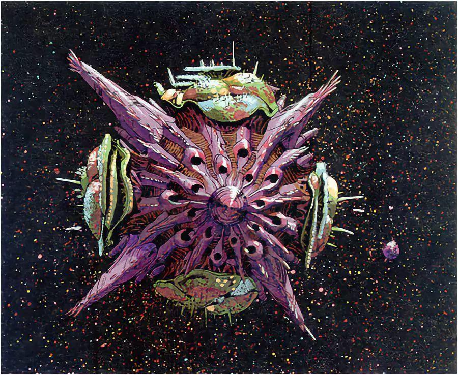 硬核:类昆虫外星人科幻史